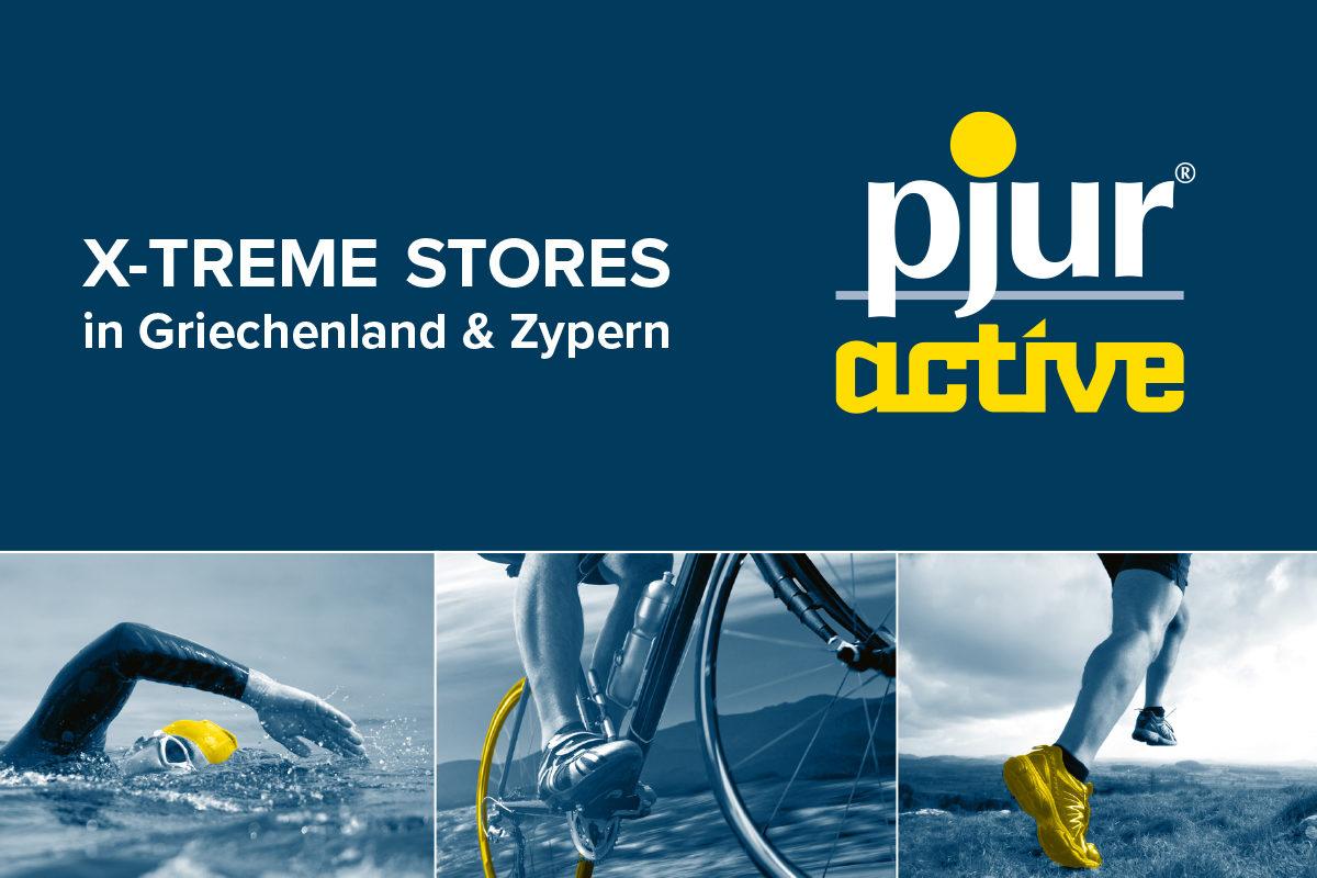 pjuractive 2SKIN jetzt auch bei X-TREME STORES in Zypern und Griechenland erhältlich