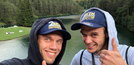 Die Baur-Brüder beim Gore-Tex Transalpine Run