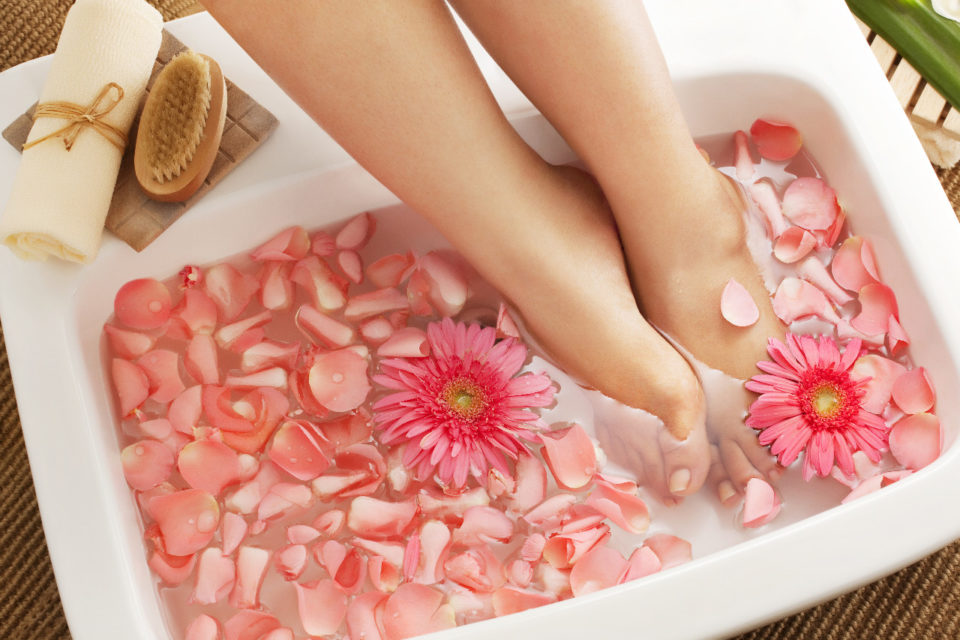 How to nourish your feet