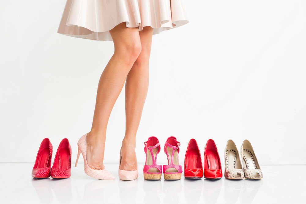 The shoes that count as high heels