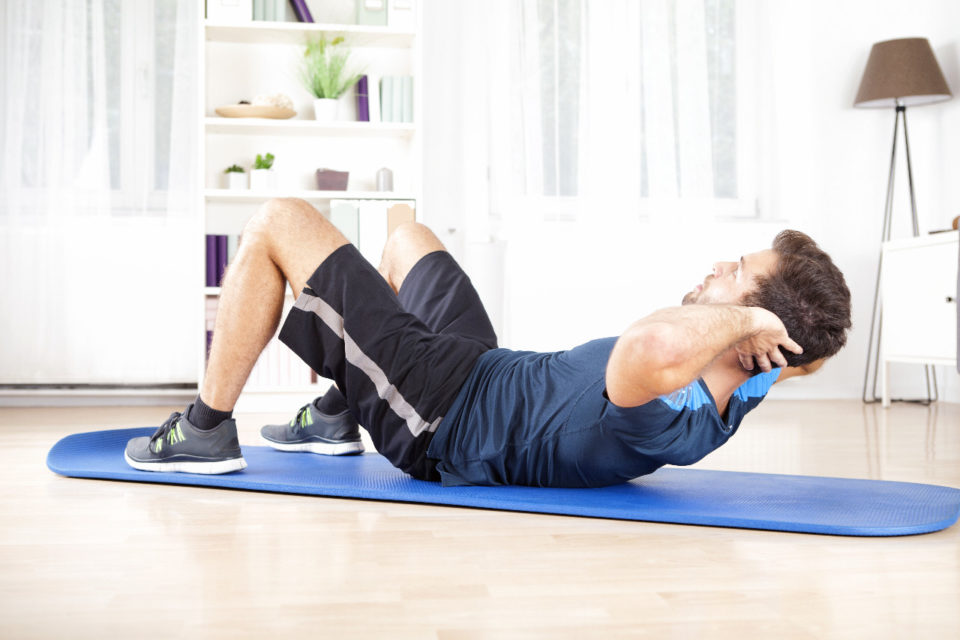 Exercises for your home workout