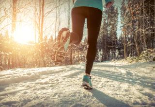 Laufen auch im Winter – darauf gilt es zu achten