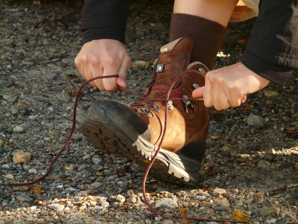 How to lace your hiking boots – avoiding chafing and blisters